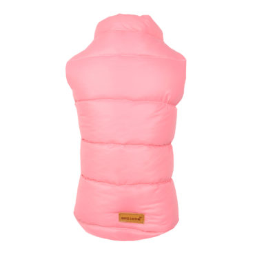 DOG CLOTHES (COLD WEATHER PUFF COAT PEACH)