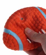 Douge couture Latex Material Dogs & Puppies Squeaky rugby ball