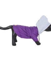 DOUGE COUTURE DOG PUFF HOODIE WARM WINTER JACKT PURPLE COLOR