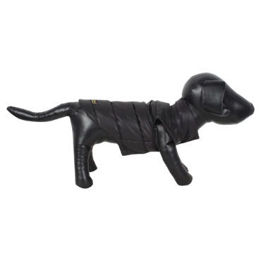 DOUGE COUTURE DOG COLD WEATHER PUFF COAT BLACK 1