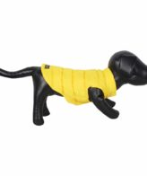 DOUGE COUTURE DOG COLD WEATHER PUFF COAT YELLOW