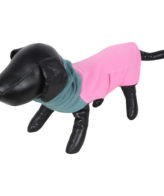 DOUGE COUTURE DOG HIGH NECK FLEECE WARM COATS PINK COLOR