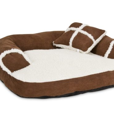 Douge Couture Soft Sofa Bed, Off-White/brown 2