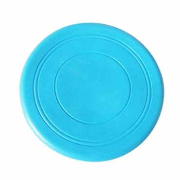 Douge couture Pet Products Rubber Medium and Small Dogs Training Silicone Toys Round Soft Float bit