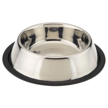 Douge couture Stainless Steel Dog Feeding Bowl 1