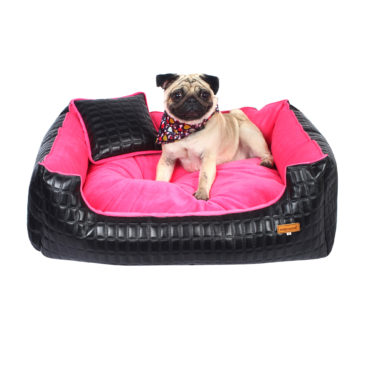 Dog bed snoozer lounger blackpink color