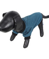 DOUGE COUTURE Winterfashion Dog/cat Soft teal blue warm tees clothing