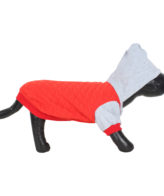 DOUGE COUTURE WINTER DOG JACKT RED COLOR
