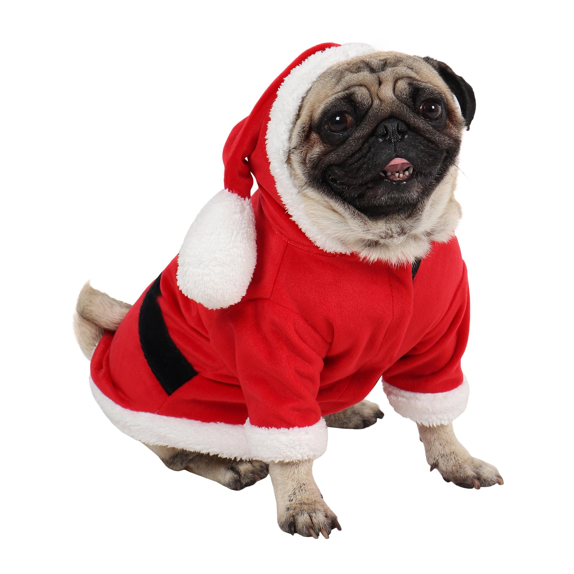 Dog Clothes Christmas Santa Dress (Red)