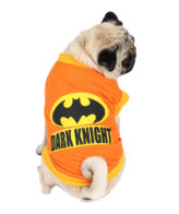 Dogs Shirts dark knight printed orange colour cotton summer T-Shirt