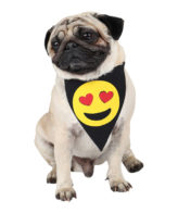douge couture printed love smiley bandana (sm-ml sizes)