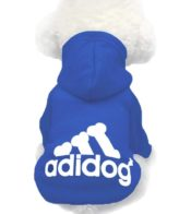 Dog Clothes dark blue (dog hoodies)