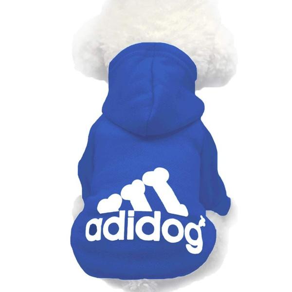 Dog Clothes dark blue (dog hoodies)