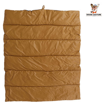 DOUGE COUTURE Portable Water Proof Mat Bed for Dogs and Cats | brown 1
