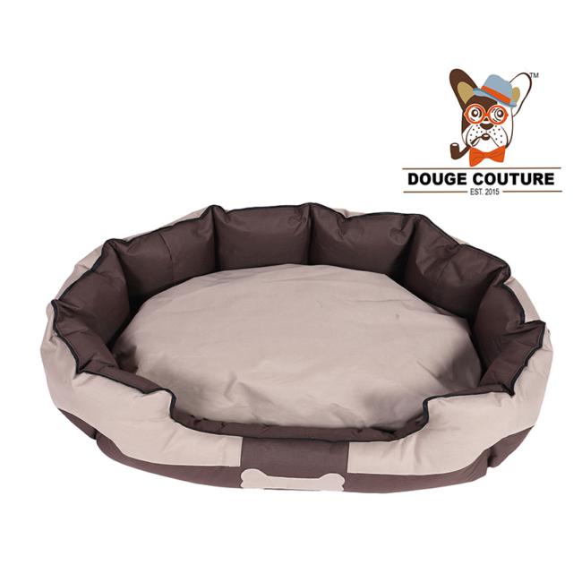 Dog Bed Soft Dog Bed Camel and Brown