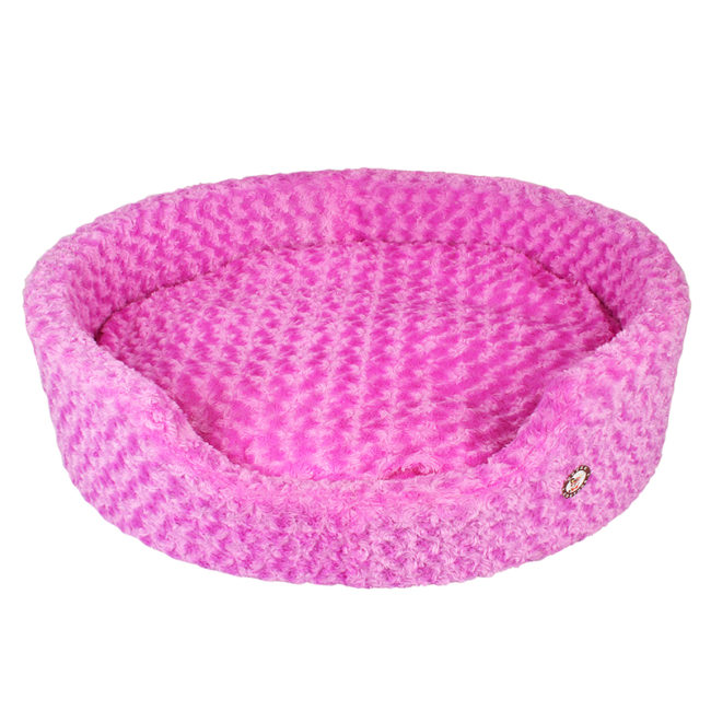 Douge Couture purple Ultra Soft Dog Tub Bed