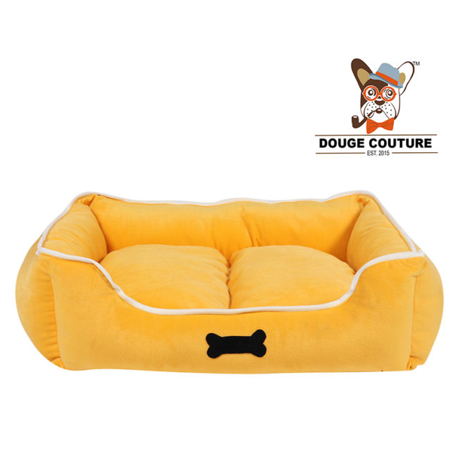 Dog/cat Bed Yellow Super Soft Cozy